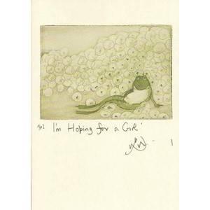 Bilde av Hoping for a Girl kort - Two Bad Mice