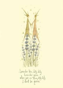 Bilde av Lavender Blue kort - Two Bad Mice