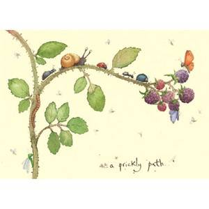 Bilde av A prickly Path kort - Two Bad Mice