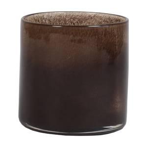Bilde av Tell me more Lyric telysholder mørk brun liten