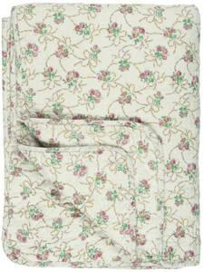 Bilde av Ib Laursen Quilt beige med roser