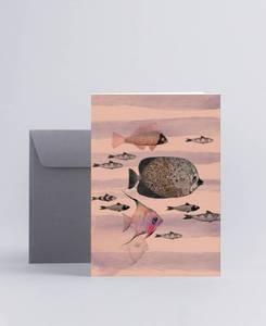 Bilde av Mini Empire Deep Sea Pink kort