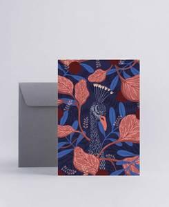 Bilde av Mini Empire Hiding Peacock kort