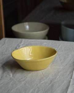 Bilde av Casagent Oval skål ocra