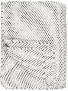 Bilde av Ib Laursen Quilt hvit m/svarte prikker