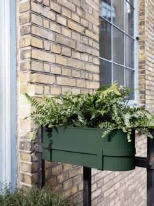 Bilde av ferm LIVING Bau Balcony Box Dark Green