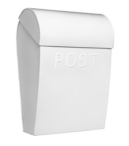 Bilde av Bruka Postkasse hvit/hvit stor