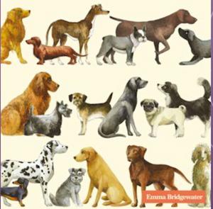Bilde av Ihr kaffeservietter Dogs EB