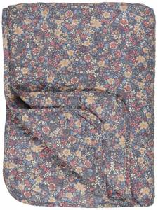 Bilde av Ib Laursen Quilt blomster på lilla bunn