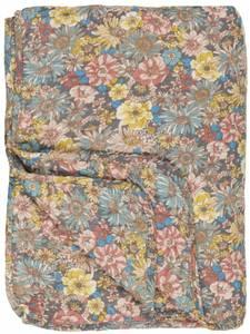 Bilde av Ib Laursen Quilt blomster i gul, turkis, korall