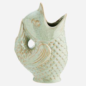 Bilde av Madam Stoltz Vase fisk mint
