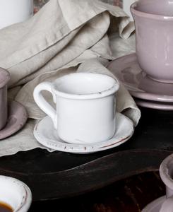 Bilde av Casagent Espressokopp med tefat bianco