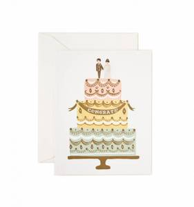 Bilde av Congrats Wedding Cake kort Rifle Paper Co