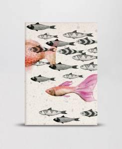 Bilde av Mini Empire Deep Sea Grey notatbok