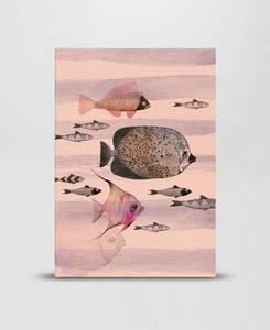 Bilde av Mini Empire Deep Sea Pink notatbok