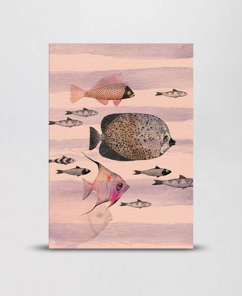 Mini Empire Deep Sea Pink notatbok