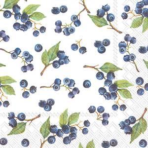Bilde av Ihr servietter Blueberries