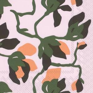 Bilde av Ihr kaffeservietter Marimekko Mielitty light rose