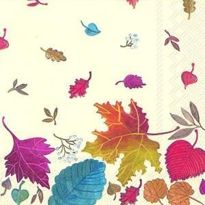 Bilde av Ihr servietter Autumn Day cream