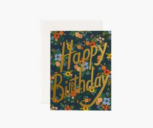 Bilde av Garden Birthday kort Rifle Paper Co