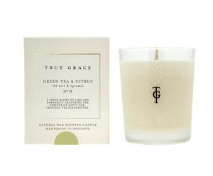 Bilde av True Grace Village Green Tea & Citrus duftlys