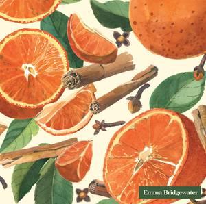 Bilde av Ihr servietter Spiced Oranges EB