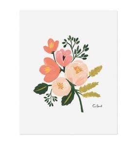 Bilde av Rose Botanical print A4 Rifle Paper Co