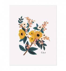 Bilde av Marigold Botanical print A4 Rifle Paper Co