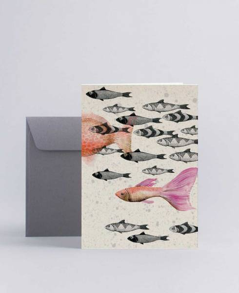 Mini Empire Deep Sea Grey kort