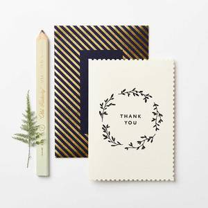 Bilde av Katie Leamon Thank You Wreath kort