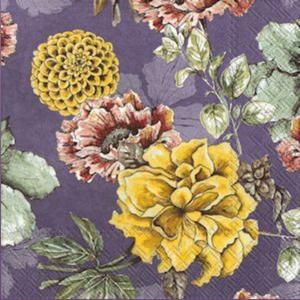 Bilde av Ihr servietter Blossom tale lilla