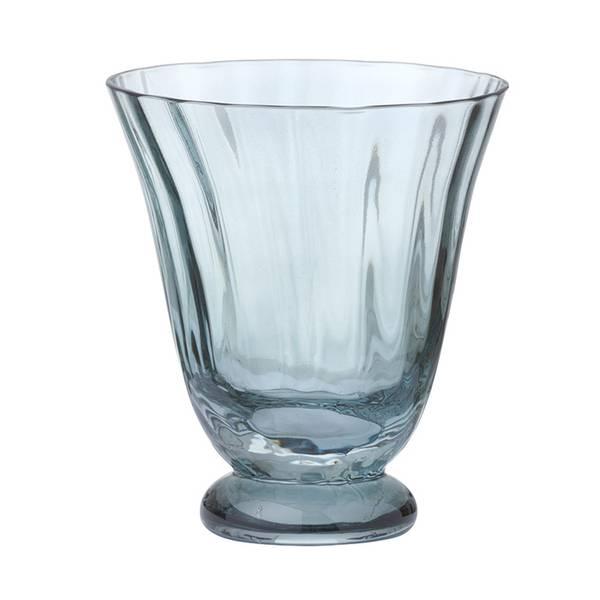 Bungalow drikkeglass Trellis topaz 2pk.