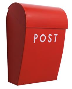 Bilde av Bruka Postkasse rød/hvit stor