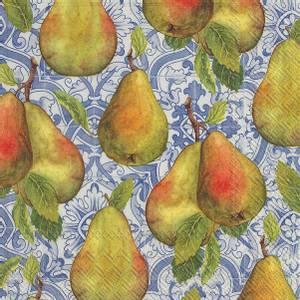 Bilde av Ihr servietter Classical Pears