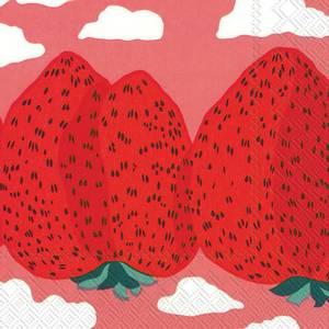 Bilde av Marimekko servietter Mansikkavuoret lunsj