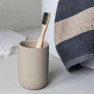 Bilde av Mette Ditmer Lotus tannbørsteholder sand