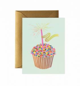 Bilde av Cupcake birthday kort Rifle Paper Co