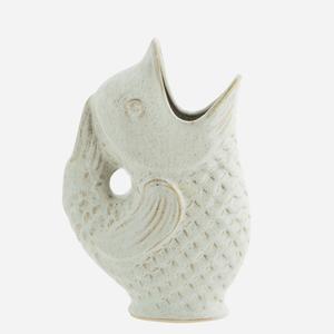 Bilde av Madam Stoltz Vase fisk offwhite