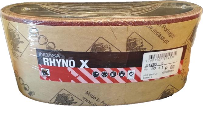 Bilde av Rhyno X slipebånd 102x552mm