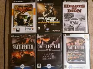 Bilde av 6 CD-ROM med spill
