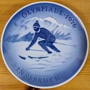 Bilde av OL 1976 - platte fra Royal Copenhagen
