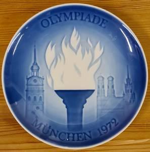 Bilde av OL 1972 - platte fra Bing & Grøndahl