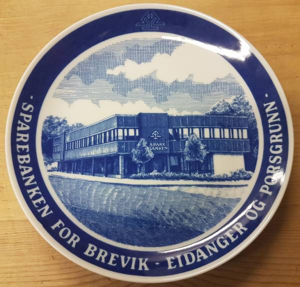Sparebanken for Eidanger, Brevik og Porsgrunn: Jernbanegata 15