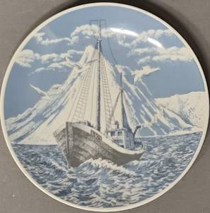 Bilde av PP-platte: Fiskebåt