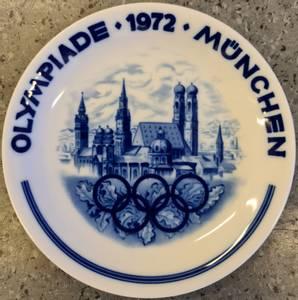 Bilde av OL 1972 - platte fra Bavaria Vohenstrauss