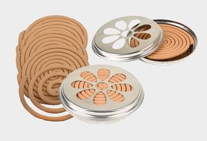 Bilde av Myggspiral i stålboks Citronella 10 stk spiral