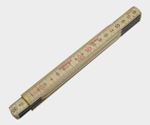 Bilde av Meterstokk 1m tre Hultafors