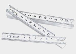 Bilde av Meterstokk 1m plast