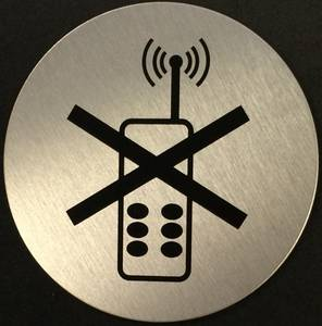 Bilde av Mobil Forbudt Ø75mm