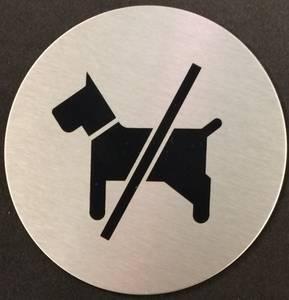 Bilde av Hunder Forbudt Ø75mm